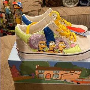 Vans old skool Simpsons The Bouviers Sisters.